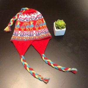 Other - ♦️3 for $15 Hand knit Peruvian Hat